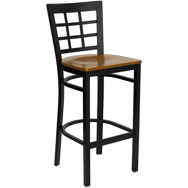 Flash Furniture HERCULES Series Window Back Barstool