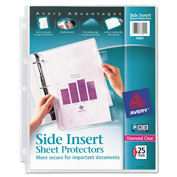 Avery Side Loading Sheet Protectors