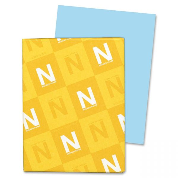 Neenah Paper Exact Index Blue Colored Card Stock