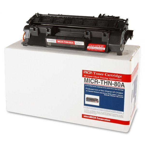 Micromicr MICR Remanufactured HP CF280A Black Toner Cartridge