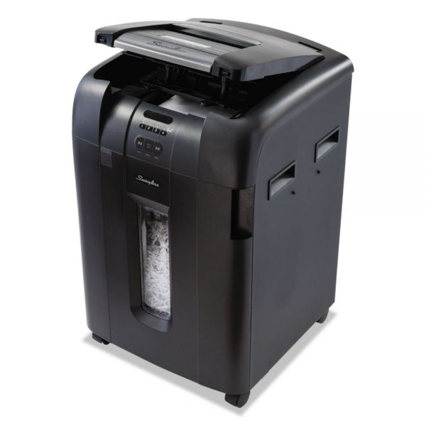 Swingline Stack-and-Shred 500 XL Super Cross-Cut Shredder Bundle