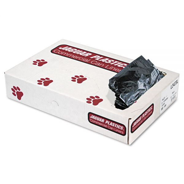 Jaguar Plastics Industrial Strength 10 Gallon Trash Bags