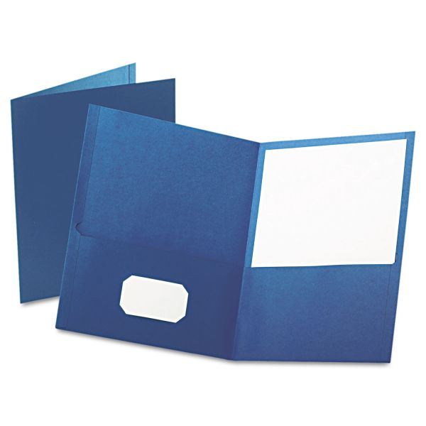 Esselte Blue Two Pocket Folders