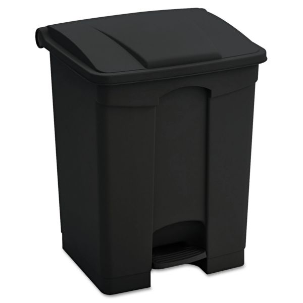Safco Step-On 23 Gallon Trash Can With Lid