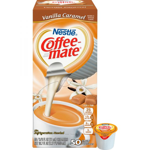 Coffee-Mate Vanilla Caramel Coffee Creamer Mini Cups