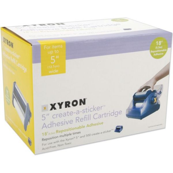 "Xyron 5"" Create-A-Sticker Refill Cartridge"