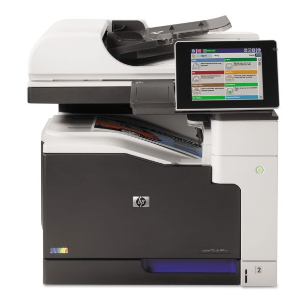 HP LaserJet Enterprise 700 Color MFP M775dn Laser Printer, Copy/Print/Scan