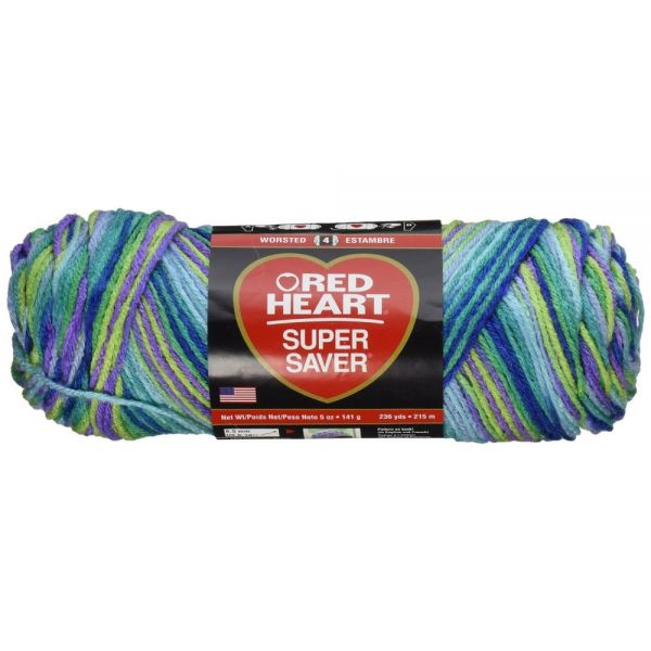 Red Heart Super Saver Yarn - Wildflowers