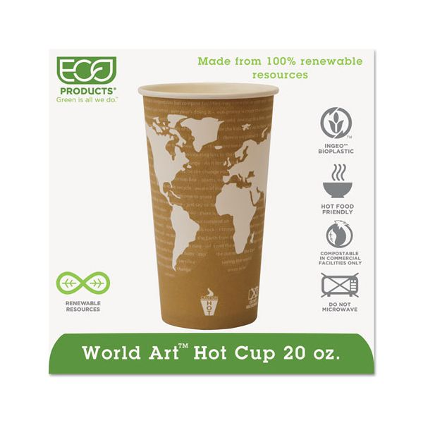 Eco-Products 20 oz Paper Coffee Cups