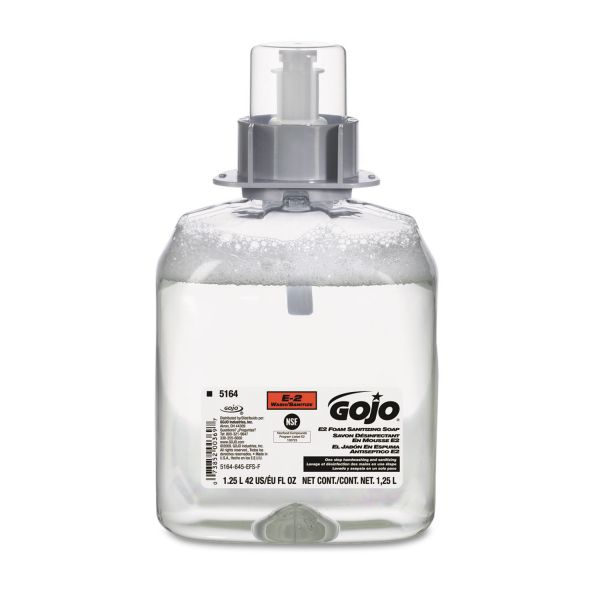 GOJO E2 Foam Sanitizing Hand Soap Refills