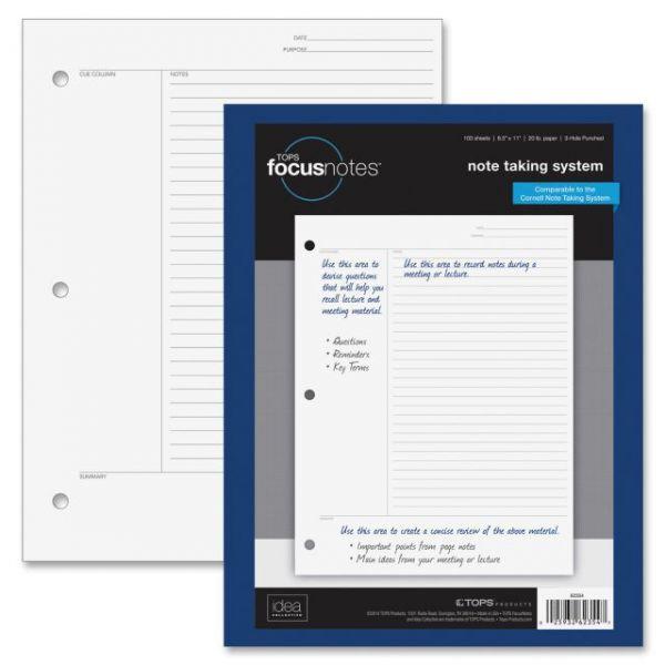 TOPS FocusNotes Filler Paper
