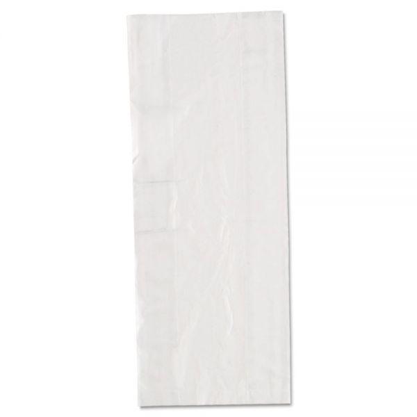 Inteplast Group Get Reddi Food & Poly Bag, 6 x 3 x 15, 3.5qt, .68mil, Clear, 1000/Carton