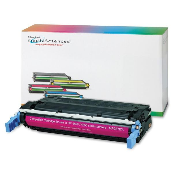 Media Sciences Remanufactured HP 641A Magenta Toner Cartridge