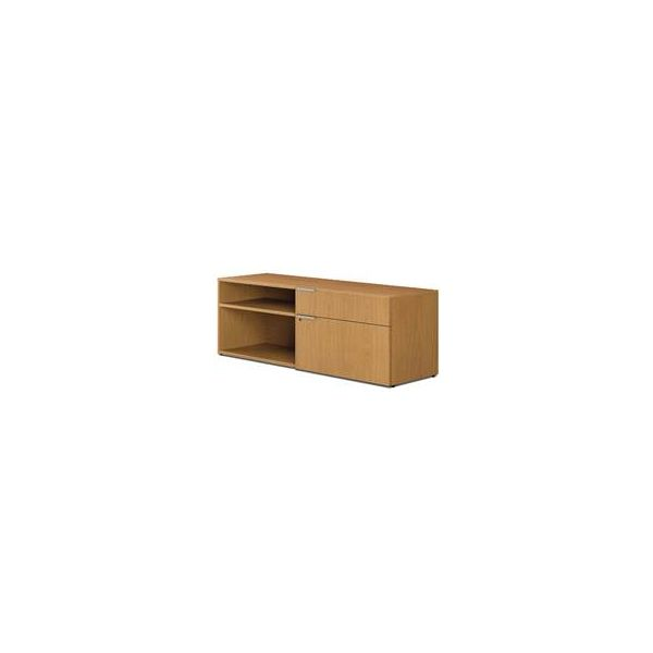 "HON Voi Low Right Credenza | 1 Box / 1 Lateral Drawer | 60""W"
