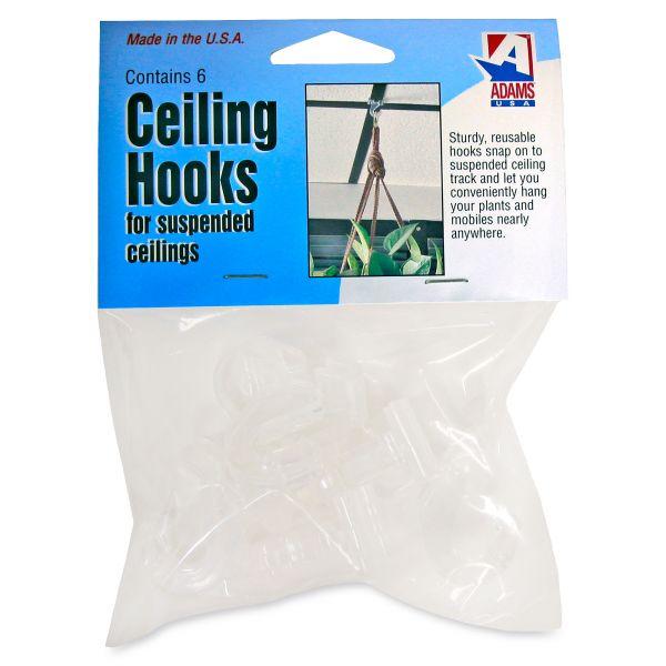 Adams Manufacturing Plastic Ceiling Hooks