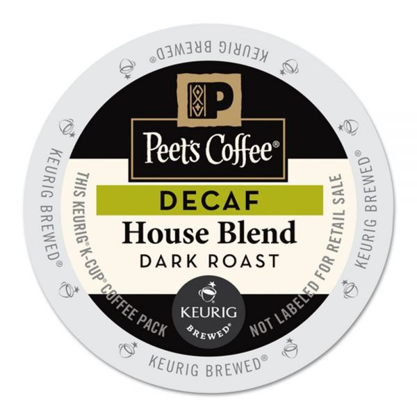 Peet's Coffee Decaf House Blend K-Cups