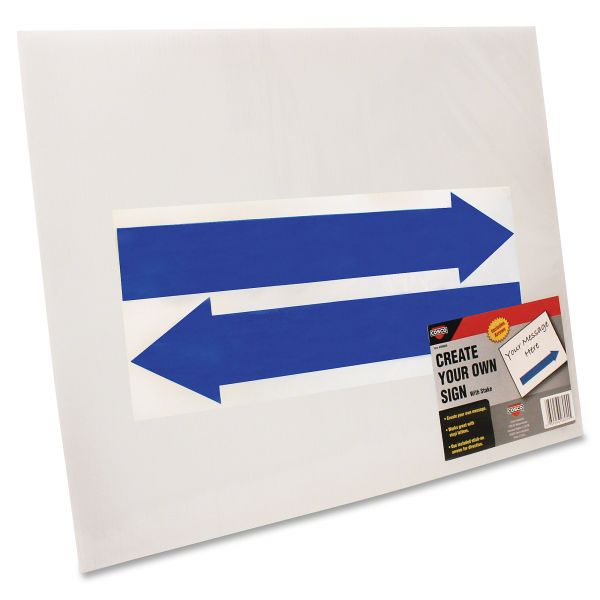 COSCO Create Your Own Stake Sign