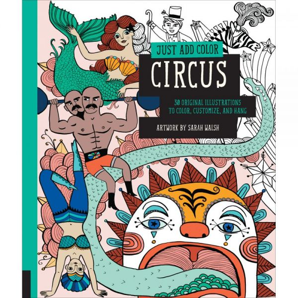 Rockport Books: Just Add Color - Circus Coloring Book