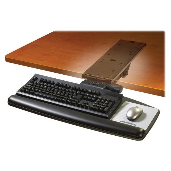 3M Easy Adjust Standard Platform Keyboard Tray