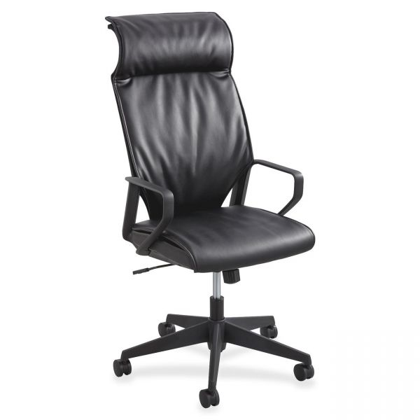 Safco Priya Leather Executive High-Back Chair