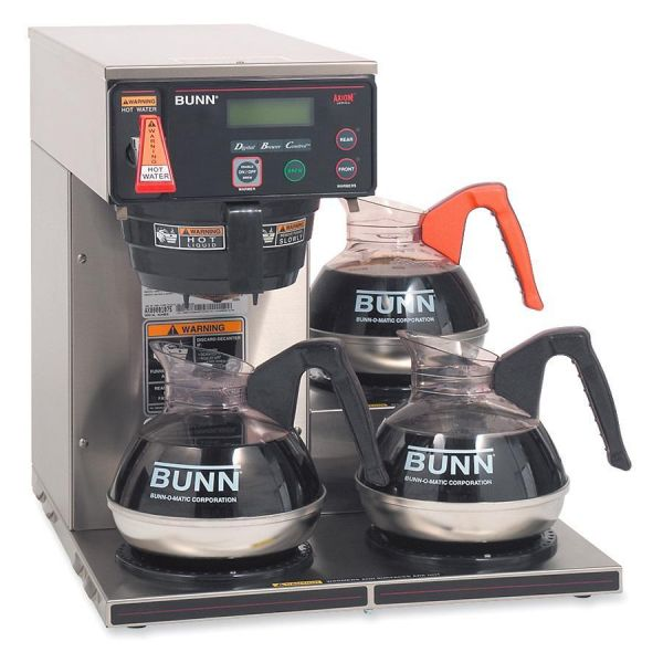 BUNN AXIOM-15-3 Three-Burner Coffee Brewer