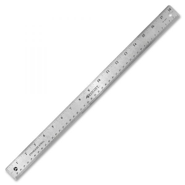 Westcott Stainless Steel Rulers