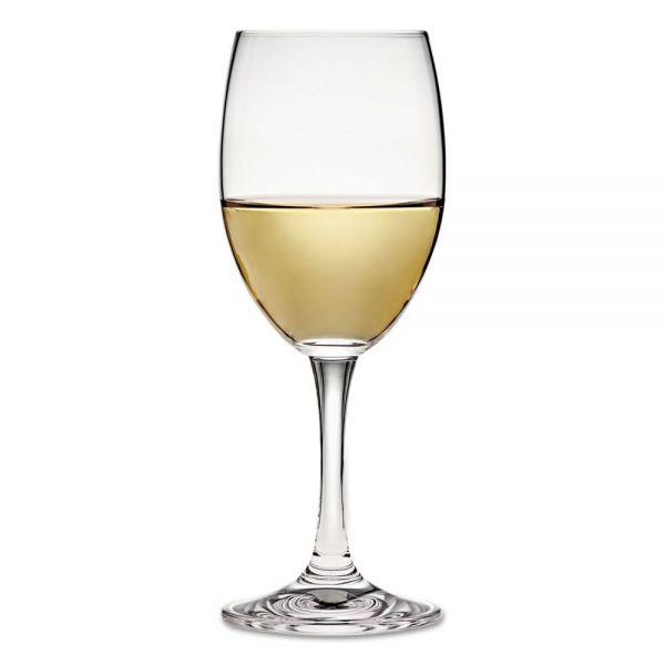 Anchor Glass 8.5 oz Florentine White Wine Glasses