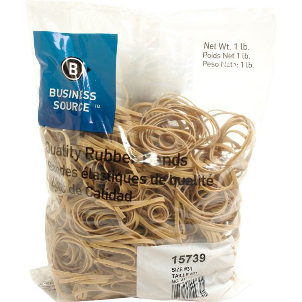 Business Source #31 Rubber Bands (1 lb)
