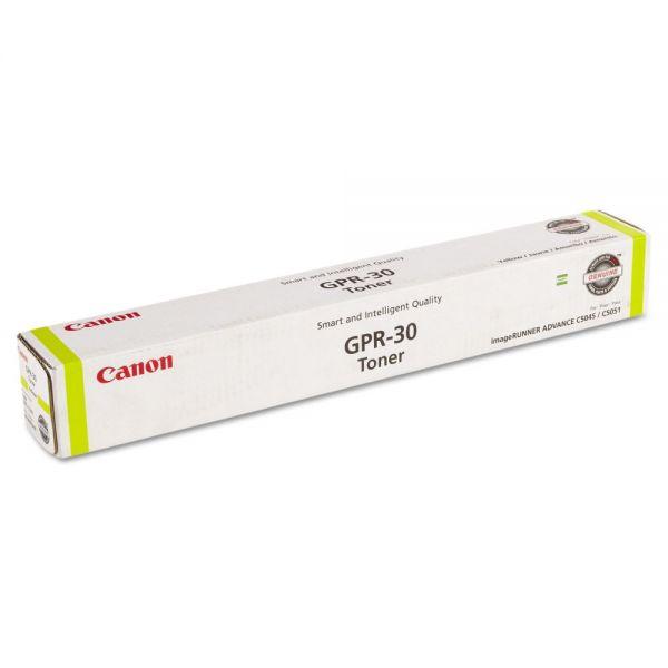 Canon GPR-30 Yellow Toner Cartridge (2801B003AA)