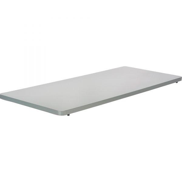 Safco Impromptu Series Mobile Training Table Top, Rectangular, 60w x 24d, Gray