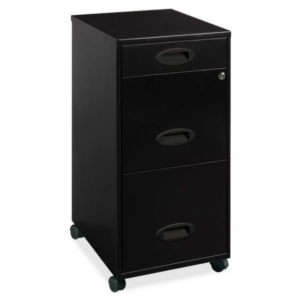 Lorell  Home Office 17427 Mobile Vertical File Cabinet