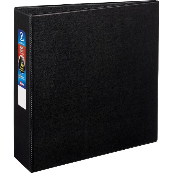 "Avery Heavy-Duty 3-Ring Binder with One Touch EZD Rings, 3"" Capacity, Black"