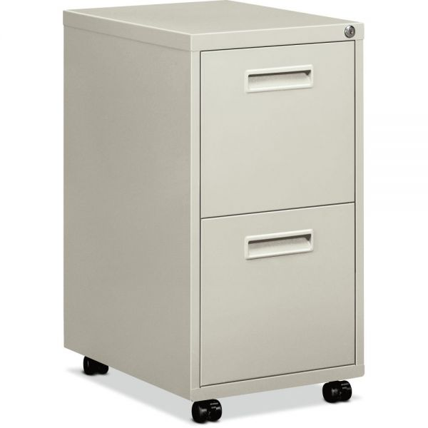 "HON basyx by HON Embark Mobile Pedestal File | 2 File Drawers | 15""W"
