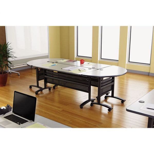Alera Alera Valencia Series Training Table Top, Rectangular, 47-1/4w x 23-5/8d, Gray