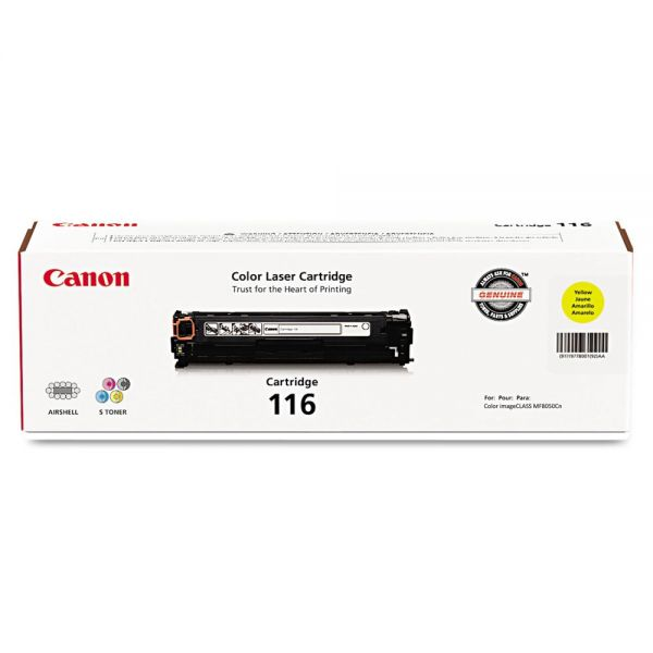 Canon 116 Yellow Toner Cartridge (1977B001)