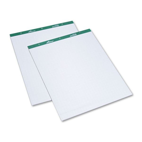 Ampad Grid Ruled Recycled Easel Pads