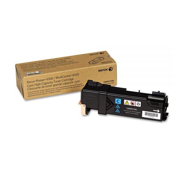 Xerox 106R01594 Cyan High Yield Toner Cartridge