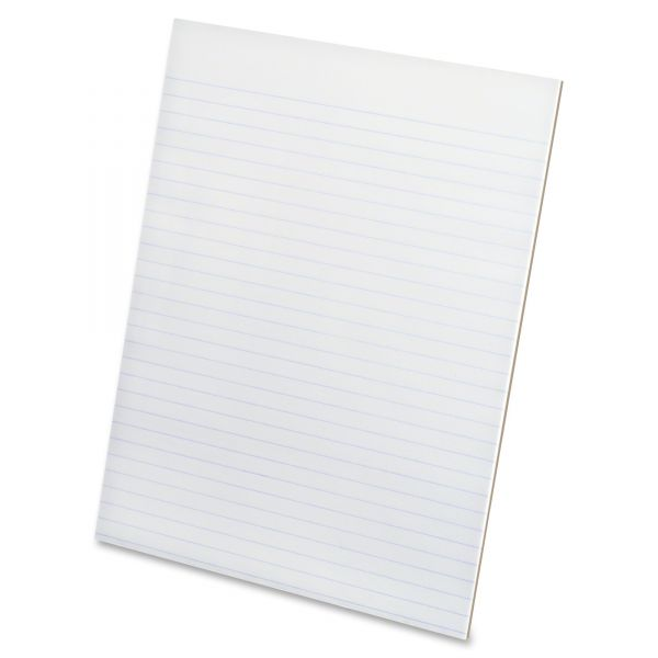 Ampad Evidence Letter-Size White Legal Pads