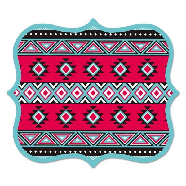 Fellowes Designer Mouse Pads, Tribal Print, 9 x 8 x 3/16