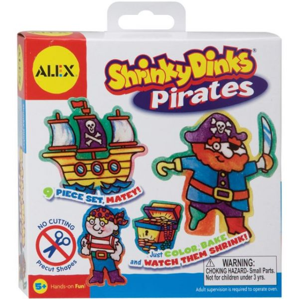Shrinky Dinks Pirates Kit