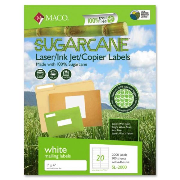 Maco Sugarcane Address Labels