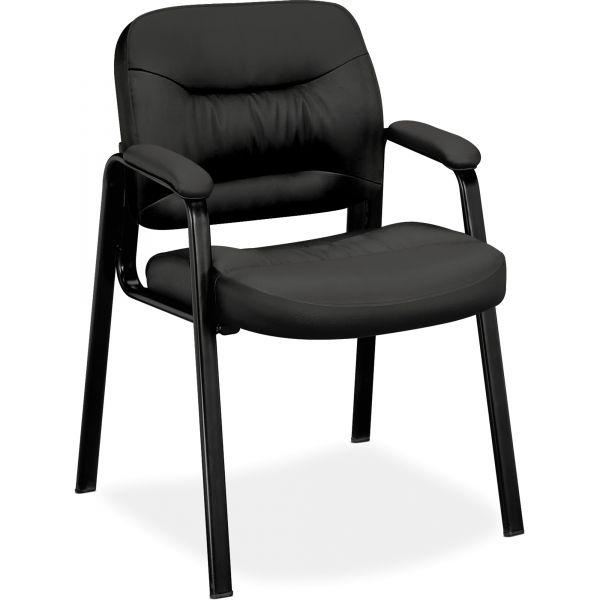 basyx VL640 Series Leather Guest Leg Base Chair