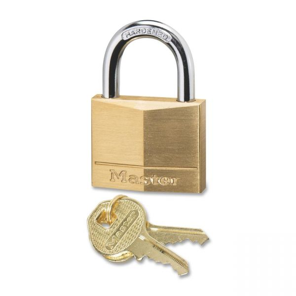 Master Lock Four-Pin Keyed Padlock