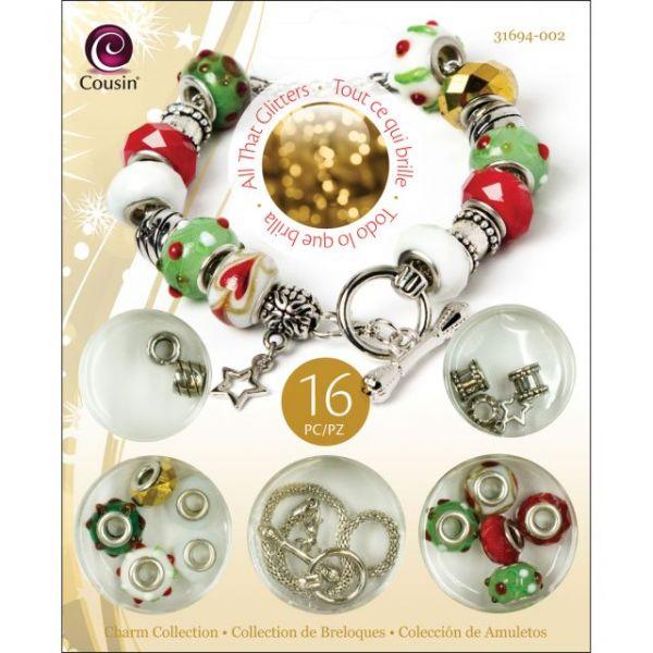 Christmas Trinkettes Bead Kit