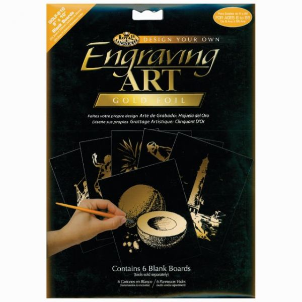 Foil Engraving Art Blank Boards