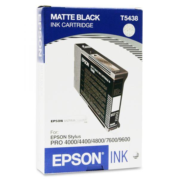 Epson T5438 Matte Black Ink Cartridge