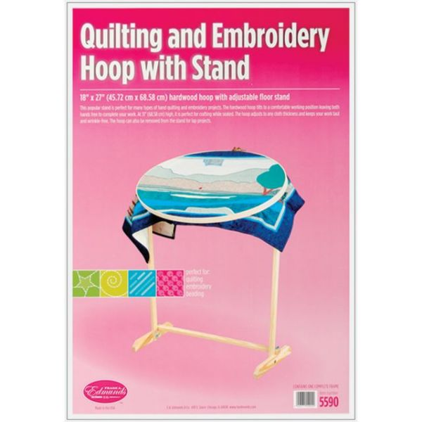 Quilting & Embroidery Hoop & Floor Stand