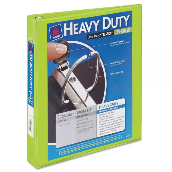 "Avery Heavy Duty 1"" 3-Ring View Binder"