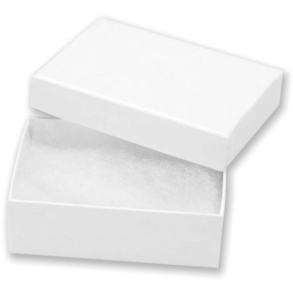 "Jewelry Boxes 3""X2.125""X1"" 6/Pkg"