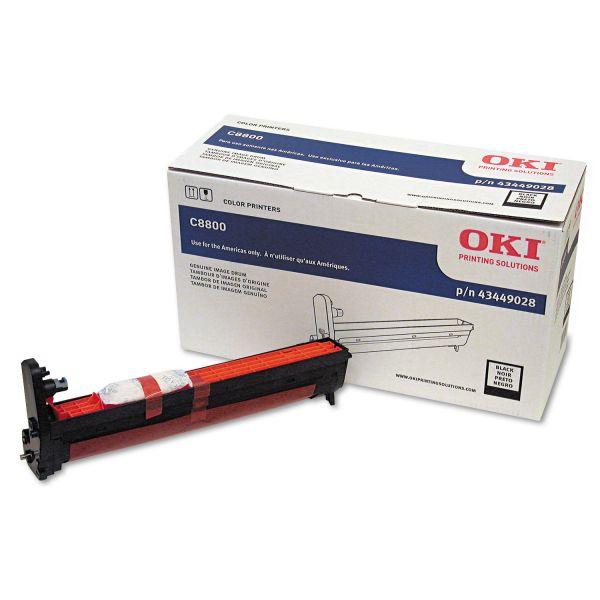 Oki Black Image Drum For C8800 Series Printers